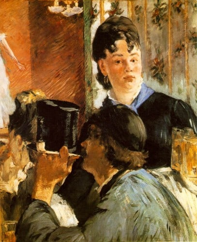 manet serveuse bocks 407x500 5 Classic Traits of Frenchwomen